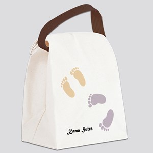 feet_10x10 7 Canvas Lunch Bag