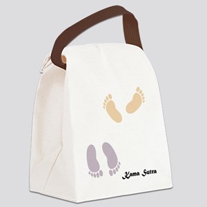 feet_10x10 8 Canvas Lunch Bag