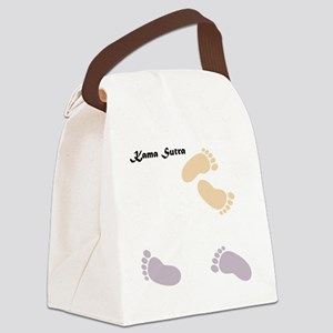 feet_10x10 10 Canvas Lunch Bag