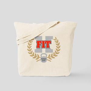 crossfit cross fit champion dark Tote Bag