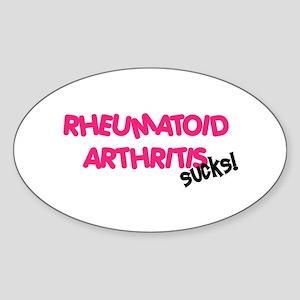 Rheumatoid Arthritis Oval Sticker