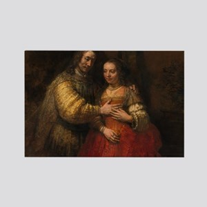 The Jewish bride - Rembrandt - c1665 Magnets