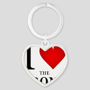 ilovethebronx Heart Keychain