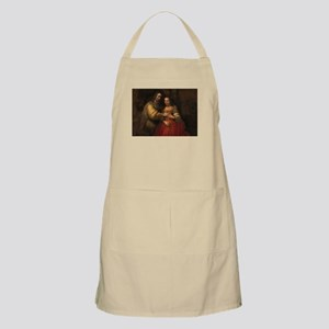 The Jewish bride - Rembrandt - c1665 Light Apron