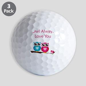 owl12 Golf Balls