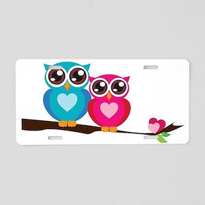 OWL16 Aluminum License Plate