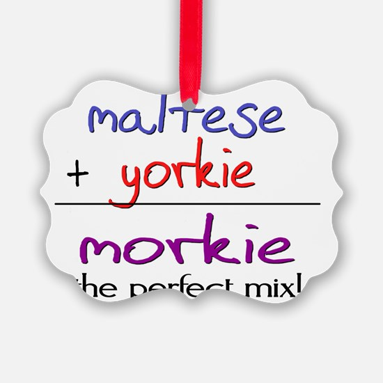 morkie Ornament