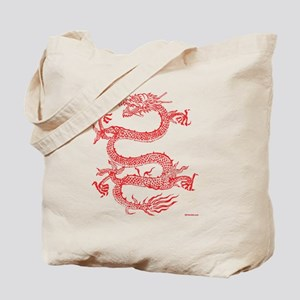 TSHIRT_DRAGON_REDINK_FEB_2012_URL Tote Bag