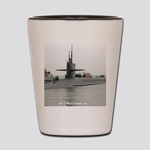 georgia ssbn framed panel print Shot Glass