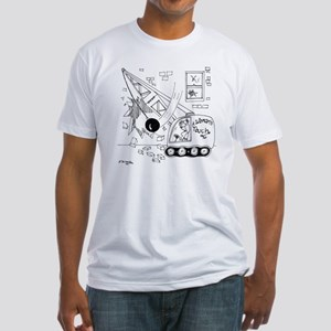 6401_demolition_cartoon_JA Fitted T-Shirt