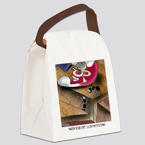 8719_insect_cartoon Canvas Lunch Bag