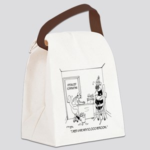 6402_bee_cartoon Canvas Lunch Bag