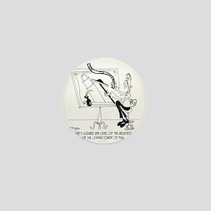 6409_architect_cartoon Mini Button