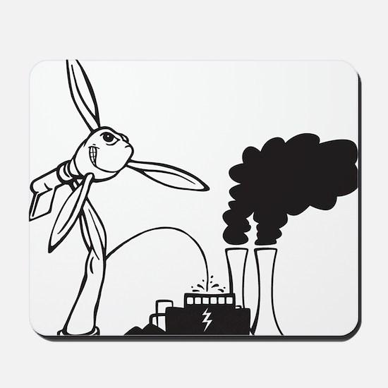 Turbine Wins. Mousepad