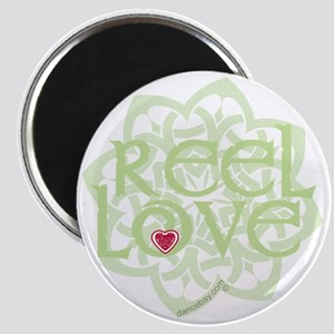dark reel love for irish dance with heart b Magnet