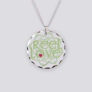 dark reel love for irish dan Necklace Circle Charm