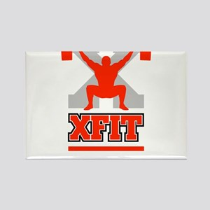 Crossfit Cross Fit Champion Lifter Dark Magnets