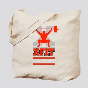 Crossfit Cross Fit Champion Lifter Dark Tote Bag