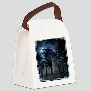 Raven Castle Canvas Lunch Bag