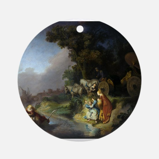 The abduction of Europa - Rembrandt - c1632 Round