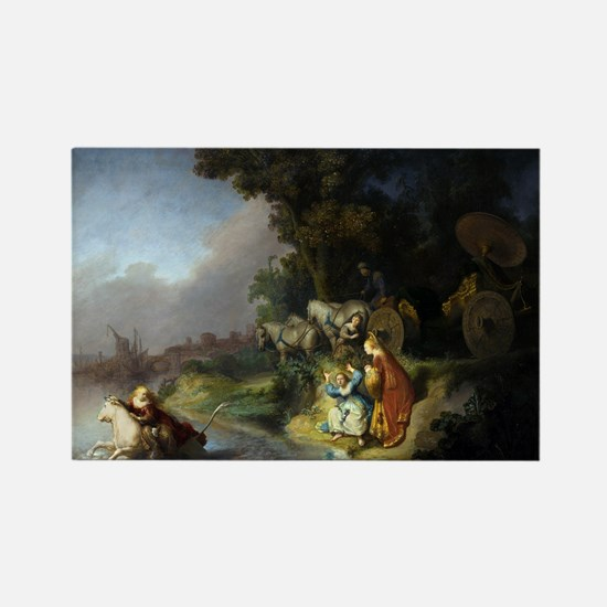 The abduction of Europa - Rembrandt - c1632 Magnet