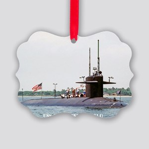 greenling rectangle magnet Picture Ornament