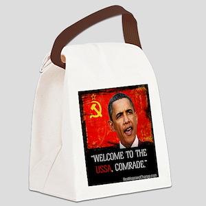 Comrade Obama T-Shirt Canvas Lunch Bag