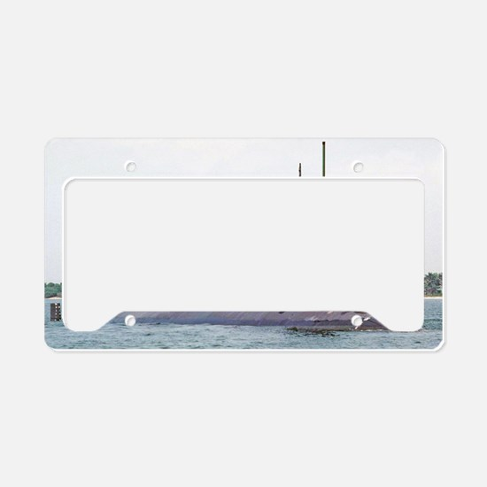 greenling framed panel print License Plate Holder