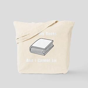 Big Books White Tote Bag