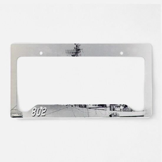 gregory rectangle magnet License Plate Holder