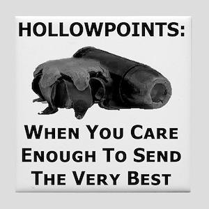 Art_Hollowpoints_When You Care Enough Tile Coaster
