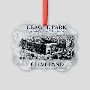 league park Framed Print Picture Ornament