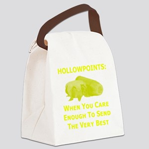 Art_Hollowpoints_When You Care En Canvas Lunch Bag