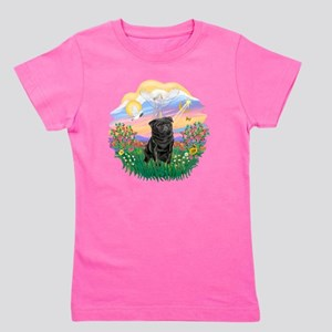 Guardian - Black Pug 17-nc Girl's Tee