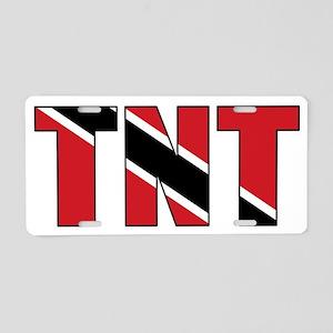trinidad_and_tobago_(tnt) Aluminum License Plate