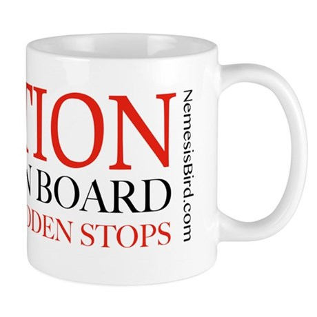 Caution Birder on Board Mug