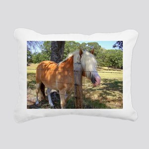 Haflinger Bangs Rectangular Canvas Pillow
