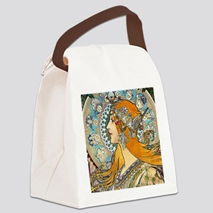 Mucha Cal 3 Canvas Lunch Bag