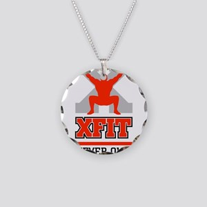 crossfit cross fit champion lifter light Necklace