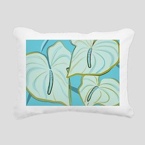 29_anthurium1 Rectangular Canvas Pillow