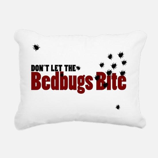Bedbugs Rectangular Canvas Pillow