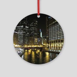 Chicago05 Round Ornament