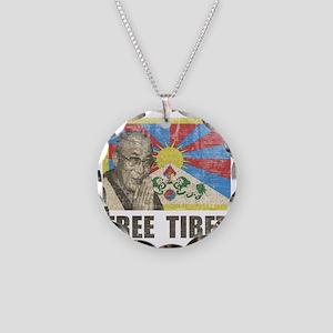 VintageFreeTibe6 Necklace Circle Charm