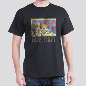 VintageFreeTibe6 Dark T-Shirt