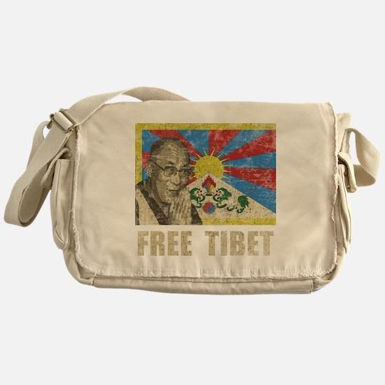 VintageFreeTibe6Bk Messenger Bag