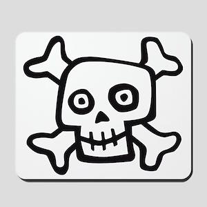Comic skull 07-2011 E 2c Mousepad