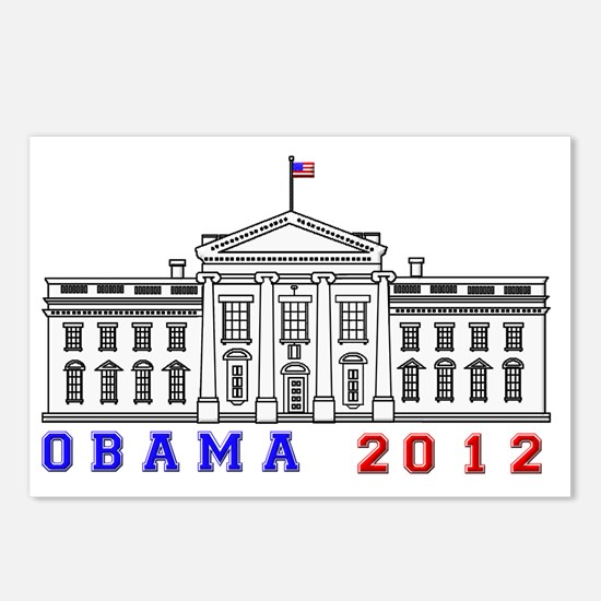 Obama White House 2012 Be Postcards (Package of 8)