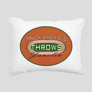 TrackFieldjaveMstrovalDk Rectangular Canvas Pillow