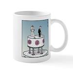 Wedding cake Golf Mugs