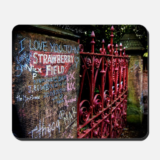 Strawberry Field Mousepad